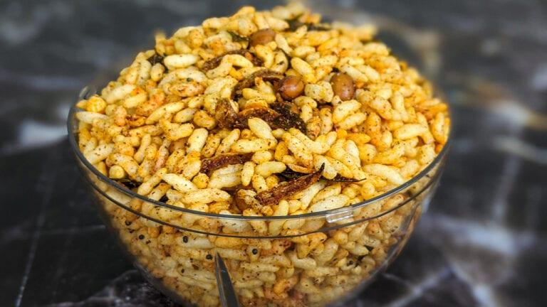 Kolhapuri bhadang recipe | Spicy Bhadang