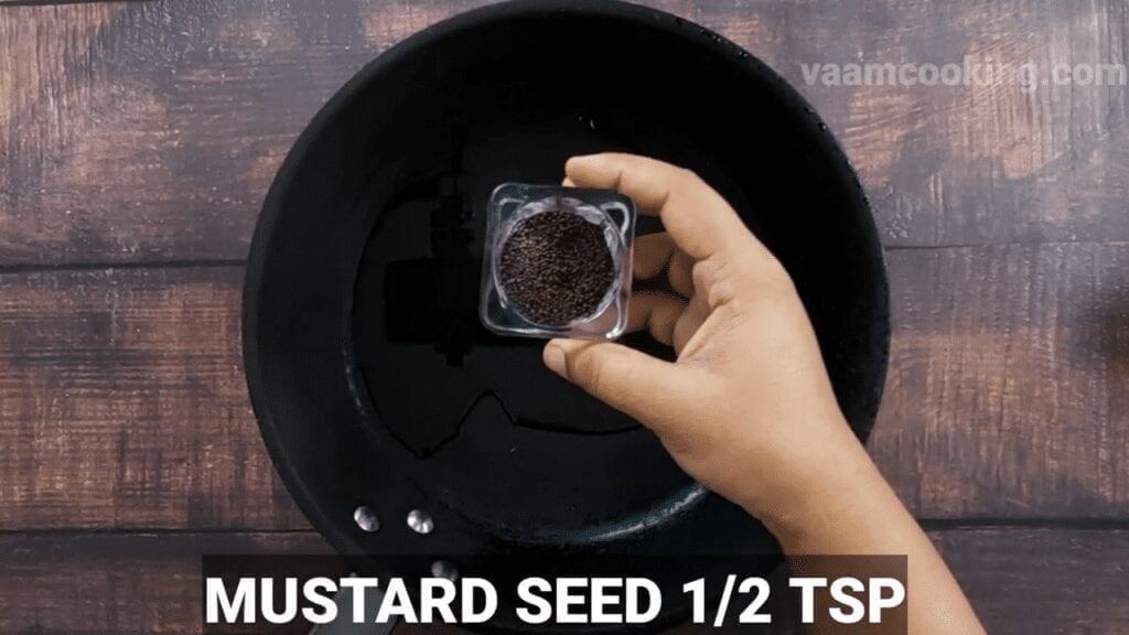 kolhapuri-bhadang-recipe-mustard-seeds
