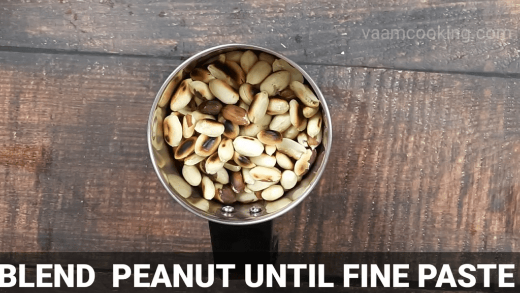 homemade-peanut-butter-recipe-blend-peanut-until-fine-paste