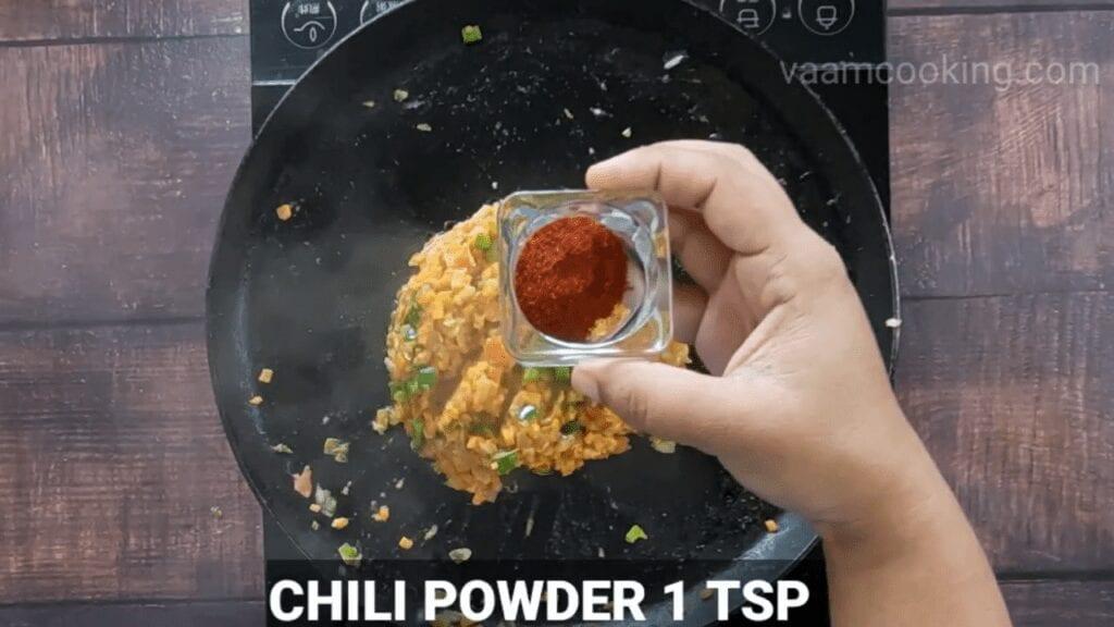 masala-pav-recipe-chili-powder
