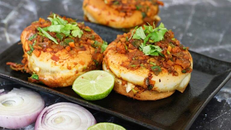 Masala pav recipe | Mumbai Street side masala pav