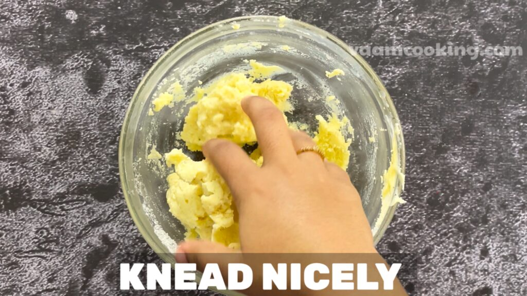 Instant peda knead peda mixture