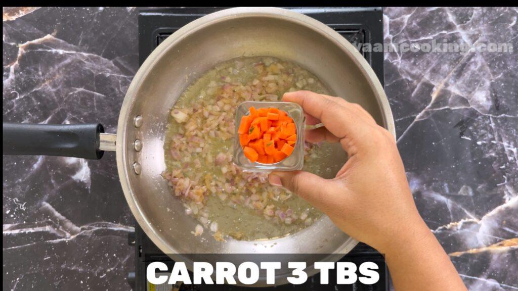 baby corn manchurian-carrot