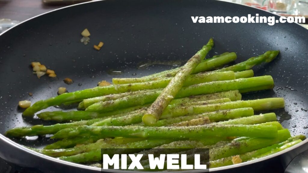 sauteed asparagus mix well